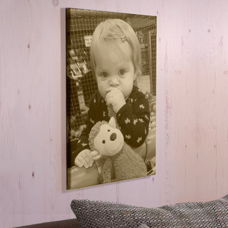Sepia Photo Canvas