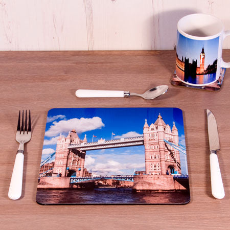 Square Photo Placemat with Cork Back
