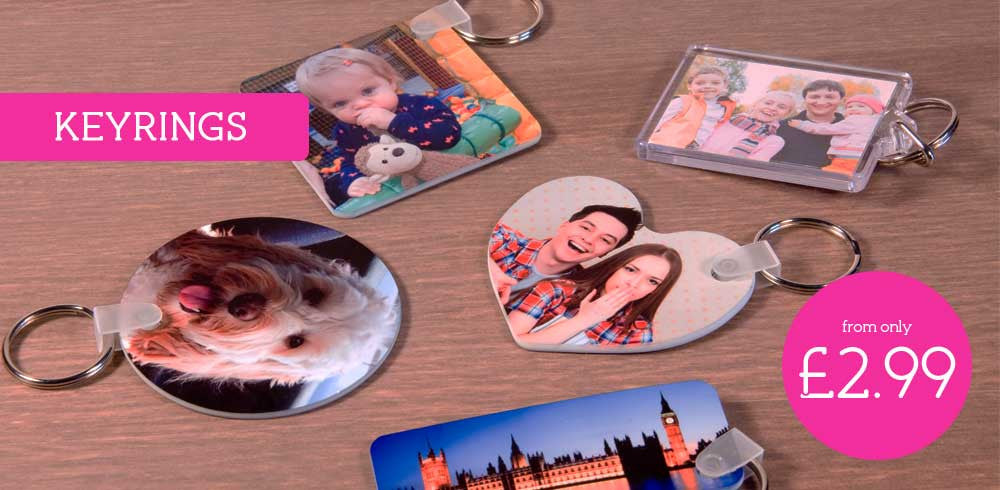 See our range of Photo Keyrings