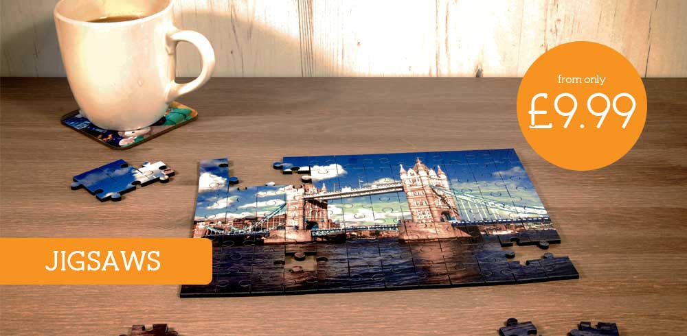 View our range of Photo Jigsaws