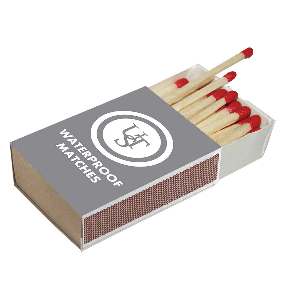 UST Waterproof Matches, 4 Pack