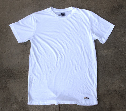 Less is More tee - white t-shirt