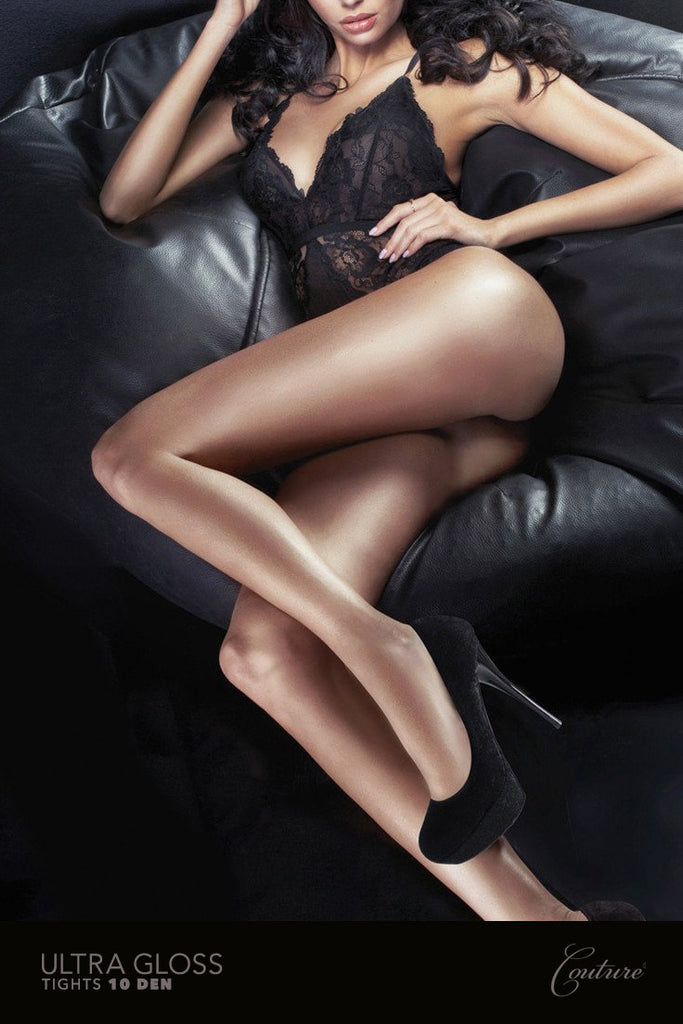 Couture Ultra Gloss Tights at Sensuous Legs