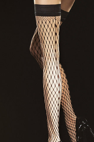 Fiore Intensa Fishnet Hold-Ups