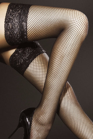 Fiore Liza Fishnet Hold-Ups
