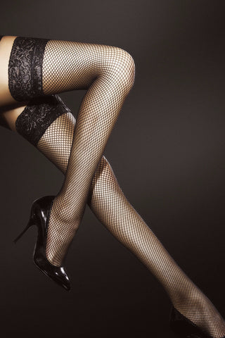 LIZA Fishnet Hold-Ups