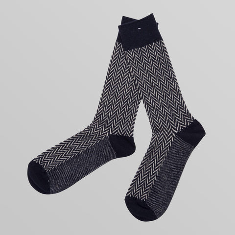 Herringbone Cotton Socks