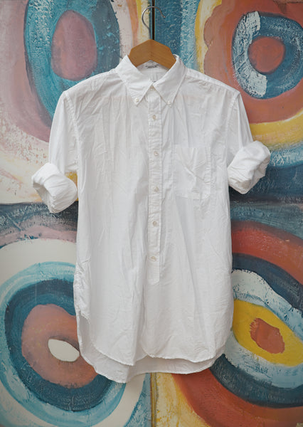 White 19th century Button Down Shirt