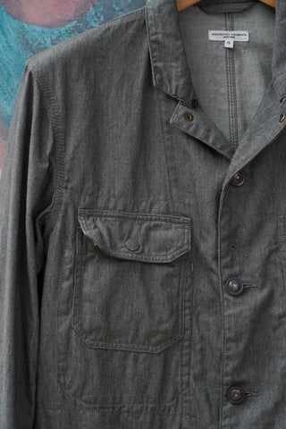 Engineered Garments Grey 7.5oz Twill Logger Jacket