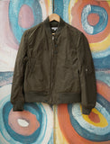 4.5oz Waxed Cotton Aviator Jacket