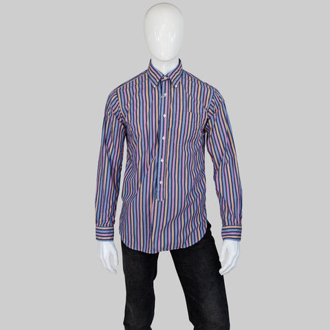 Stripe BD Collar Shirt