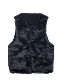 Engineered Garments Reversible Over Vest Corduroy Black