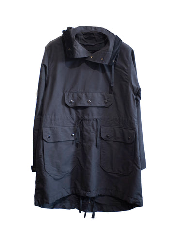 Engineered Garments Over Parka Black Ripstop