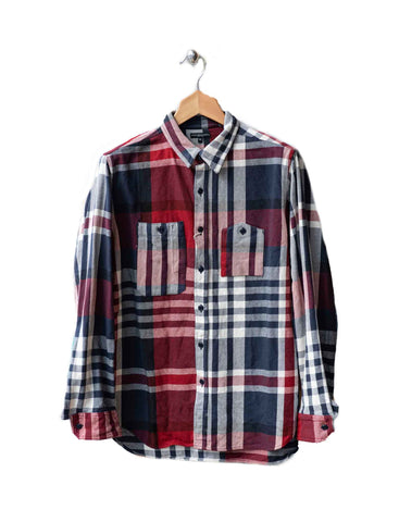 Heavy Twill Plaid Work Shirt