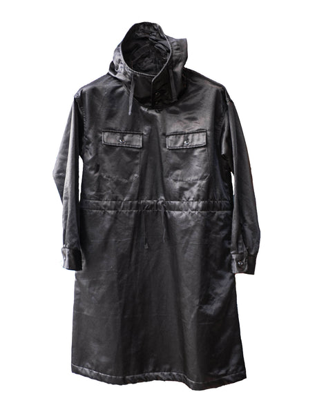 Engineered Garments Black Cagoule Dress PC Jacket
