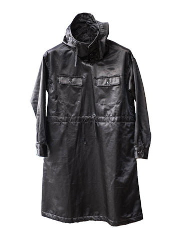 Black Cagoule Dress PC Jacket