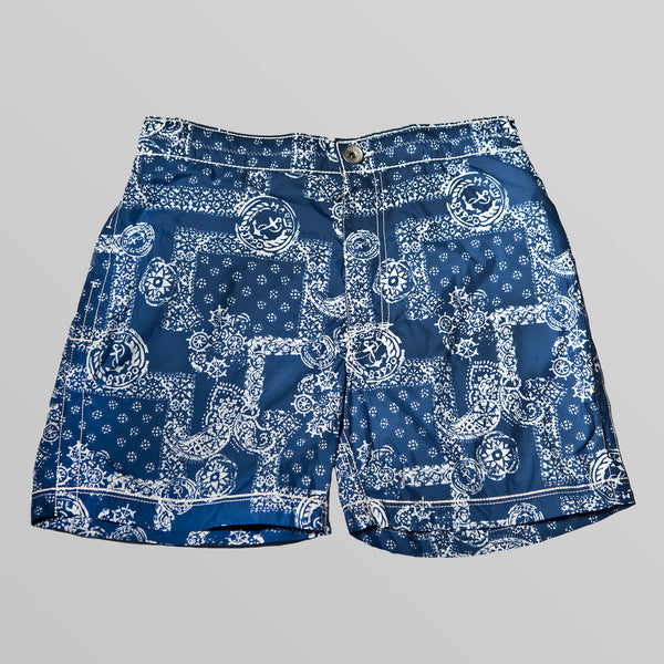 Anchor Bandana Print Swimwear