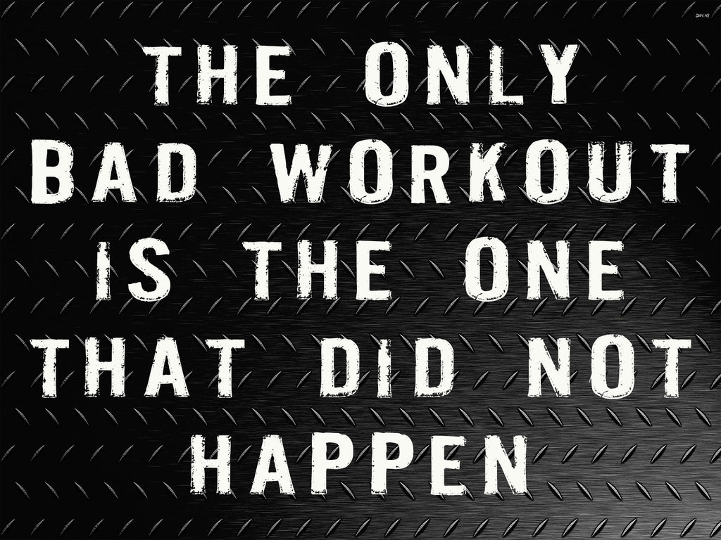 Fitness Quotes Poster Workout Motivation Gym 115