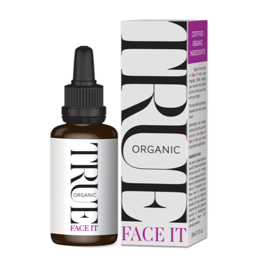 Face it - A fast absorbing potent organic serum with a high concentration of active ingredients