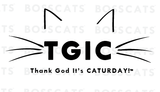 BOSSCATS™ TGIC - Thank God It's Caturday Mug