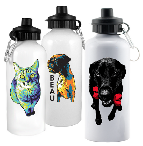 Custom Water Bottle (600ml Aluminum)