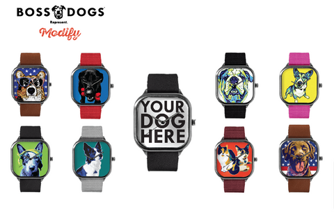 Discounted  BossDogs™ Custom Gun Metal Watch