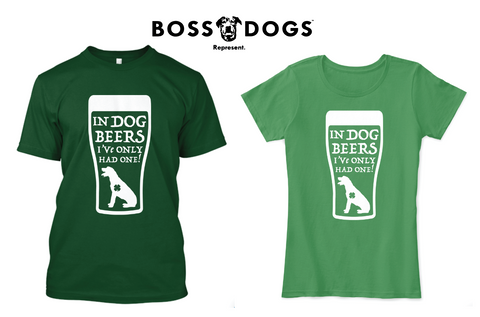 "IW ""In Dog Beers"" (Large Design on Front)"
