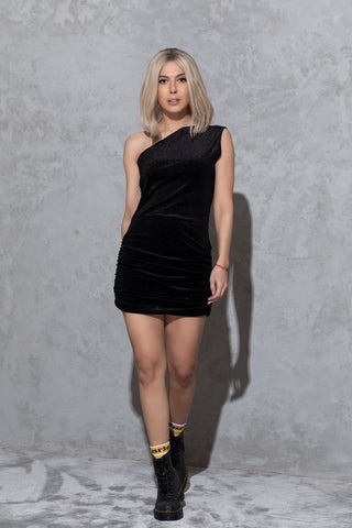 Mini silk dress EVA
