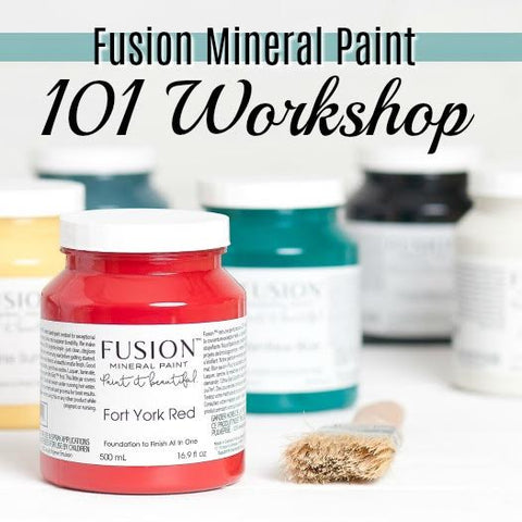 Fusion Mineral Paint 101 Workshop (Sunday, September 17th)