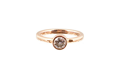 HAATHI FINE - Solitaire Diamond Bezel Ring