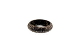 HAATHI FINE - Black Diamond Cluster Ring Thick