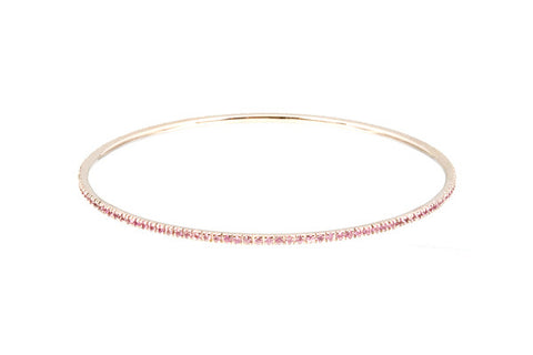 HAATHI FINE - Bangle with Pink Sapphires