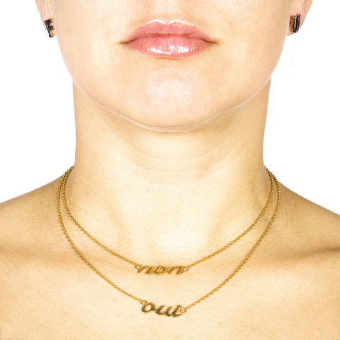 MAIS OUI CHERI - Non Necklace