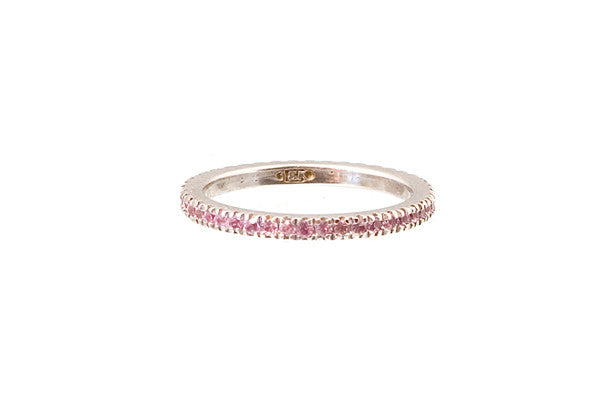 HAATHI FINE - Stack Ring with Pink Sapphires