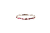 HAATHI FINE - Stack Ring with Rubies