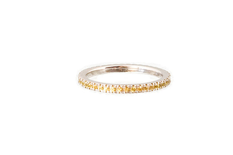 HAATHI FINE - Stack Ring with Citrine