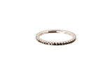 HAATHI FINE - Stack Ring with Black Diamonds