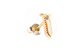 MOOD EARRING - Screw with Diamond Accent
