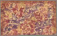 J Jeffery Paper, Gold Sunflowers Pattern No. 3