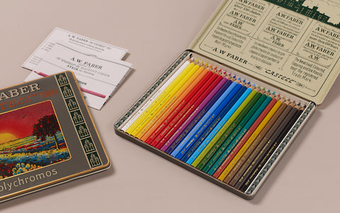 "Special Edition ""111 Years Of Colour"" Polychromos Coloured Pencils, Set of 24"
