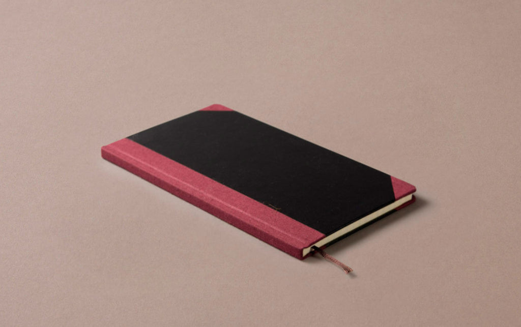 Hardback Slim Pocket Notebook - Grid