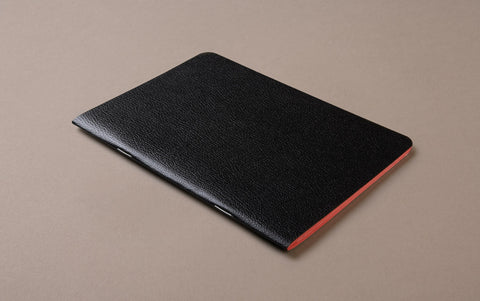 Black Choosing Keeping A5 Large Notebook