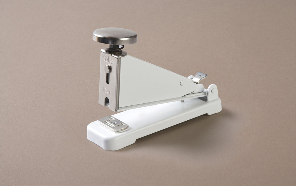 Desktop White Folle Classic Stapler
