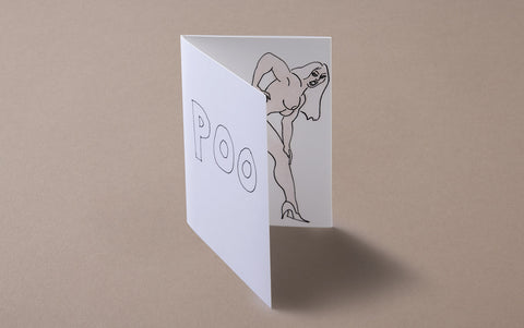 The Poo Pop-up Card