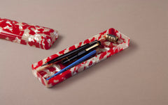 Large Red Koi Celluloid Pen Case