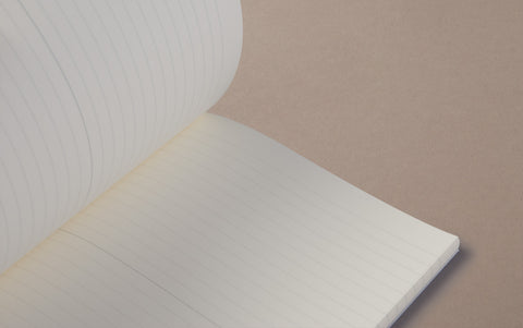 White MD Pocket Slim Notebook