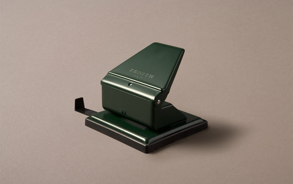 Green Zenith Hole Punch