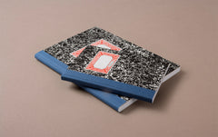 Miquelrius Black and White Marbled Composition Notebook