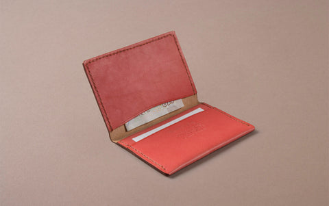 Pink Choosing Keeping Slim Wallet