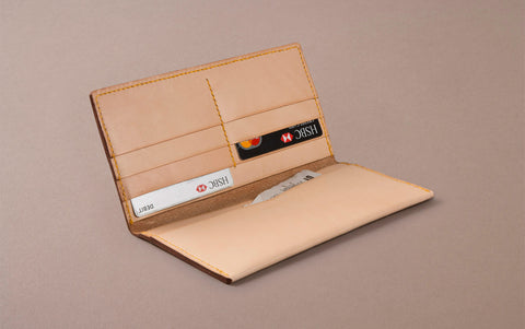 Natural Choosing Keeping Large Slim Wallet